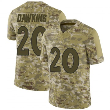 Youth Brian Dawkins Denver Broncos Nike Limited 2018 Salute to Service Jersey - Camo