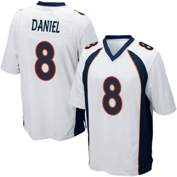 Youth Trevor Daniel Denver Broncos Nike Game Jersey - White