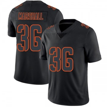 Youth Trey Marshall Denver Broncos Nike Limited Jersey - Black Impact